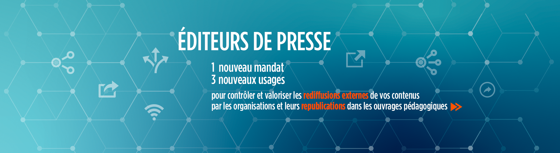 Editeurs de Presse - Copies externes